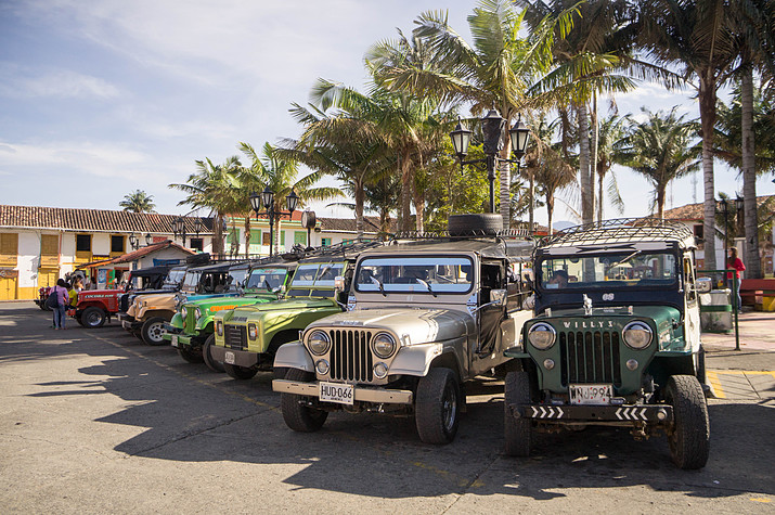 Cocora Jeeps