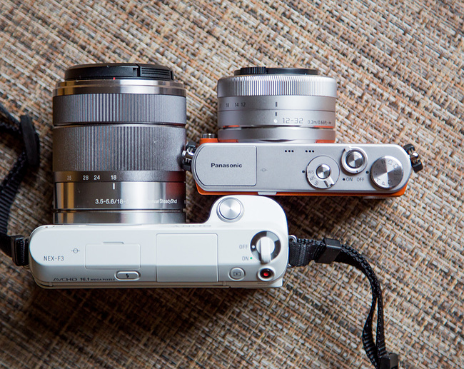 Panasonic GM1 vs Sony NEX F3